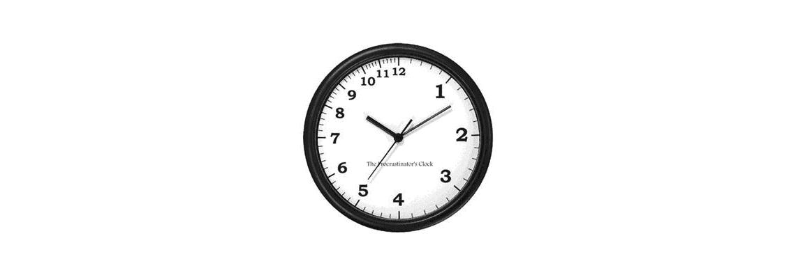 uitstel-klok